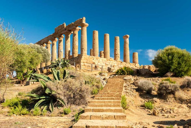 Absolute Italy - Customizing Italian Travel - Temple of Juno; Valley of the Temples of Agrigento