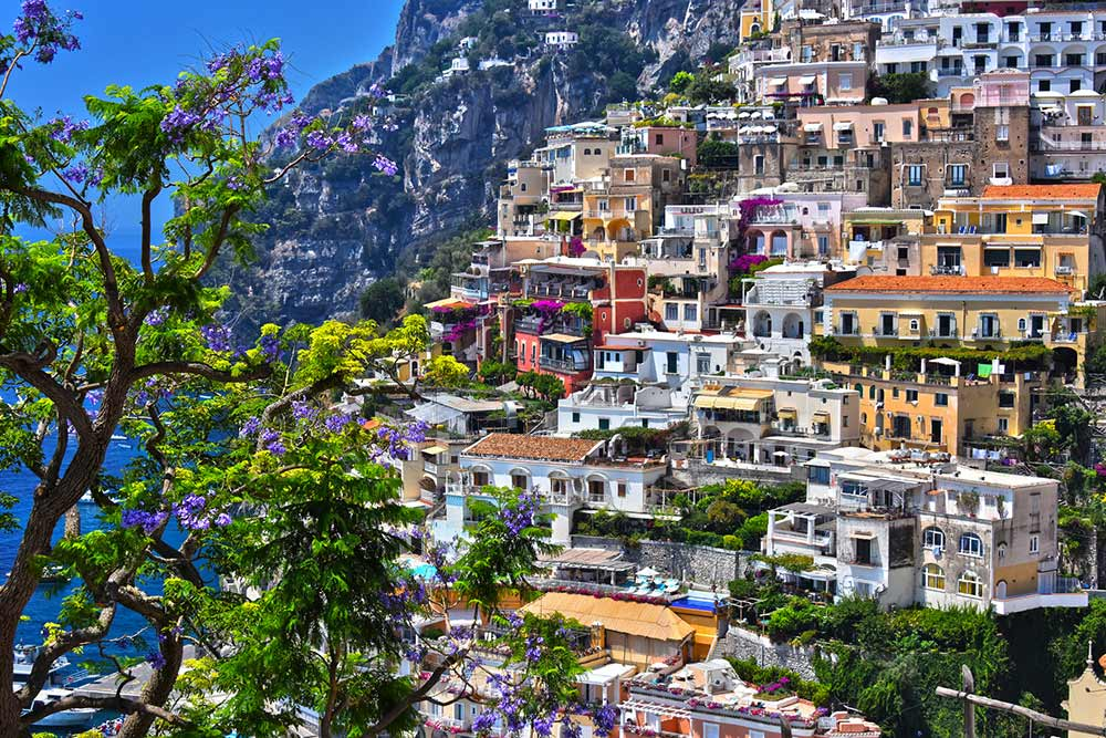 Absolute Italy - Customizing Italian Travel - City of Positano on Amalfi coast, Italy