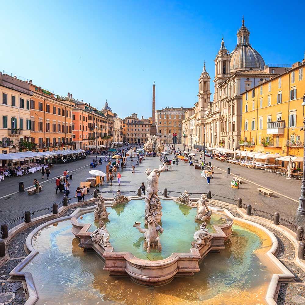 Absolute Italy - Customizing Italian Travel - Navona square, Rome, Italy