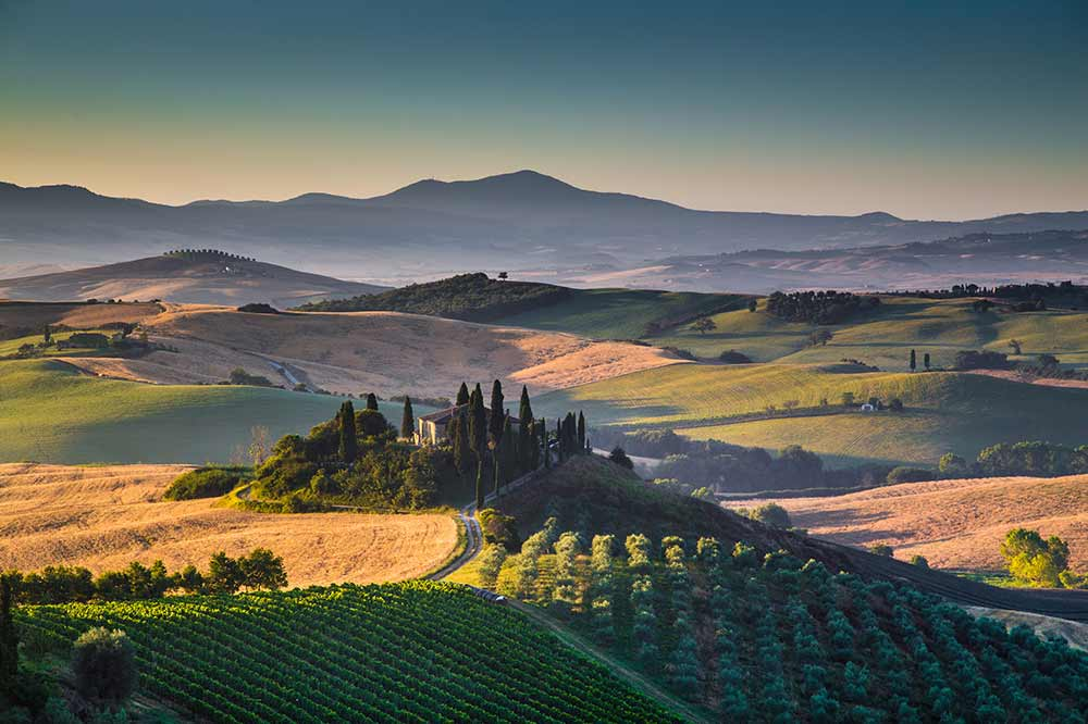 Rome Tours and Transfers Option C: Southern Tuscany Sightseeing