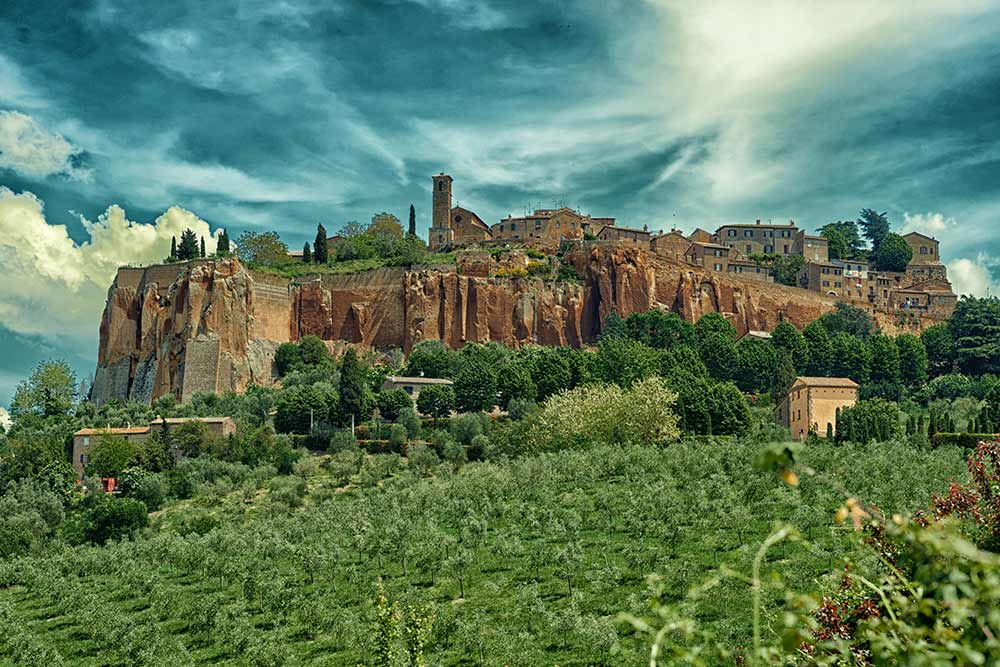 Rome Tours and Transfers Option D: Orvieto and Winery/Olive Mill Tour (3 hours)