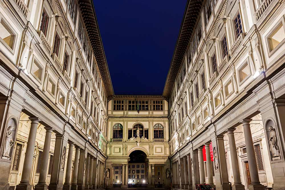 Absolute Italy - Customizing Italian Travel - Uffizi Gallery in Florence in Italy