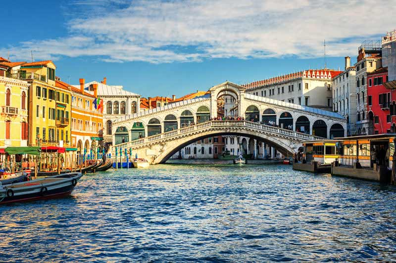 Absolute Italy - Customizing Italian Travel - The Grand Canal and Rialto bridge, Venice, Italy