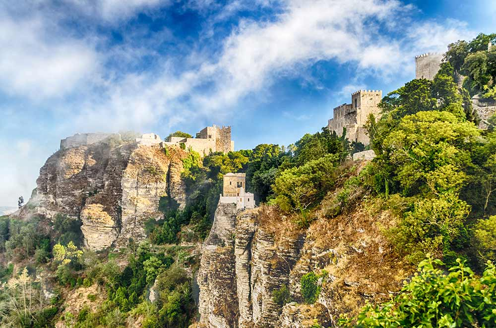 Absolute Italy - Customizing Italian Travel - View over Medieval Castle of Venus in Erice, Sicily
